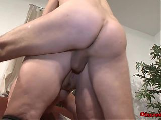 Mature woman sucks cock, gets fucked hard and swallows sperm