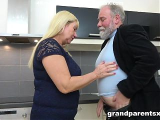 Grandpa gets lucky