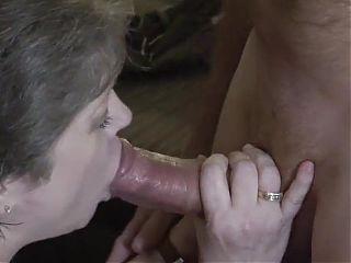 Granny Sucks that Big Cock
