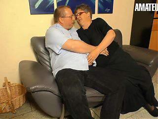 AMATEUREURO - Fat German Granny Gets Dicked Down By Husband
