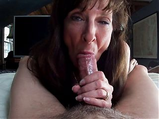 Sexy Milf Marie Shows Cum in Mouth, Compilation