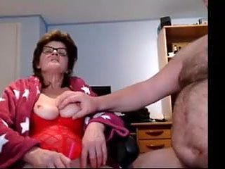 Older couple on cam