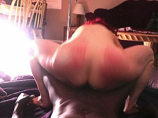 Part 1: Extreme reverse cowgirl pounding on BBC
